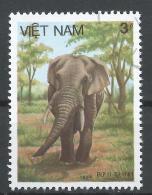 Viet Nam Democratic Republic 1987. Scott #1734 (U) Elephant, Fauna * - Viêt-Nam