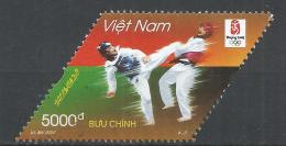 Viet Nam Democratic Republic 2008. Scott #3328 (U) Summer Olympicsm Beijing, Taekwondo * - Viêt-Nam