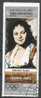 Yemen 1969. Scott #257A (U) Painting In The Louvre, The Gypsy By Frans Hals * - Yémen