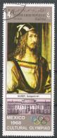 Yemen 1969. Scott #259E (U) Painting In The Prado, Madrid, Self-portrait By Durer* - Yémen
