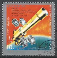 Yemen 1970. Scott #278h (U) Interplanetary Station, Space Telescope * - Yémen