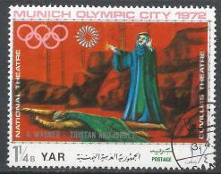 Yemen 1971. Scott #288c (U) Opera Scene, Wagner, Tristan & Isolde * - Yémen
