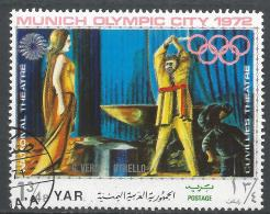Yemen 1971. Scott #288d (U) Opera Scene, Verdi, Othello * - Yémen