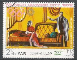 Yemen 1971. Scott #288e (U) Opera Scene, Berg, Lulu * - Yémen