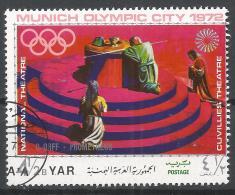 Yemen 1971. Scott #288f (U) Opera Scene, Orff, Prometheus * - Yémen