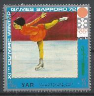 Yemen 1971. Scott #298c (U) Olympic Sport, Figure Skating * - Yémen