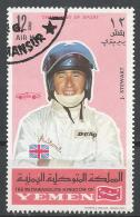 Kingdom Of Yemen. #E (U) J. Stewart, Racing Car Driver * - Yémen