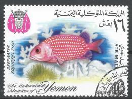 Kingdom Of Yemen. #H (U) Deepwater Squirrel Fish * - Yémen