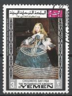 Kingdom Of Yemen 1968.  #K (U) Painting By Vellasquez, (1599-1660), Infant Margarita Teresa * - Yémen