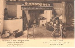 Koksijde - Coxyde - CPA - L'étoile De La Mer - Interieur De Cabane De Pêcheur - Koksijde