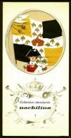 COLLECTION ÉTENDARDS- DRAPEAUX- REGIMENT DE LORRAINE- PORTE DRAPEAU 1789- PUB NORBILINE AU VERSO- 3 SCANS - Drapeaux