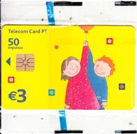 PORTUGAL(chip) - Dia Da Criança 2002, Tirage 31000, 06/02, Mint - Portugal