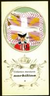 COLLECTION ÉTENDARDS- DRAPEAUX- RÉGIMENT DE VIGIER- ENSEIGNE EN 1730- PUB NORBILINE AU VERSO- 3 SCANS - Drapeaux
