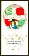 COLLECTION ÉTENDARDS- DRAPEAUX- RÉGIMENT DU ROI- ENSEIGNE EN 1670- PUB NORBILINE AU VERSO- 3 SCANS - Drapeaux