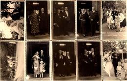 27 Cartes Photos Originales Mariage & Reportage Photo Des Mariés De Hanovre (Hannover)  Vers 1930/40 - Wilhelm Manthey - Anonymous Persons