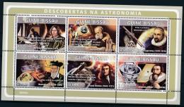 D- [400814] **/Mnh-Guiné-Bissau 2009 - Découvertes En Astronomie - Astronomie