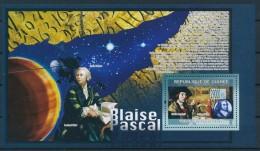 D- [400892] **/Mnh-Guinée 2009 - Blaise Pascal, Satellites, Astronomie - Astronomie