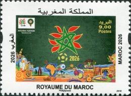 Maroc 2018 - MNH - Maroc 2026 World Cup - Marokko (1956-...)