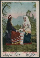 1905 Aland Finland Costumes Postcard Mariehamn - Harrogate, Yorkshire. - Aland