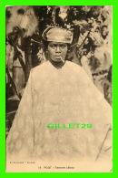 POUT, SÉNÉGAL - FEMME LÉBOU - A. ALBARET, DAKAR - ÉCRITE EN 1933 - - Sénégal