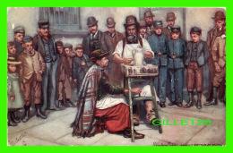 LONDON, UK - LONDON LIFE, STREET POTTER AT WORK - TRAVEL IN 1908 - RAPHAEL TUCK & SONS OILETTE - - London Suburbs