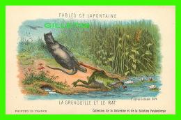 FABLES DE LAFONTAINE - LA GRENOUILLE ET LE RAT D'APRÈS GUSTAVE DORÉ - COLLECTION DE LA KOLARSINE & SOLUTION PAUTAUBE - Contes, Fables & Légendes
