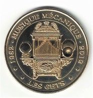Monnaie De Paris 74.Les Gets - Musée De La Musique Mécanique 2012 - Monnaie De Paris
