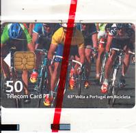 PORTUGAL(chip) - Ciclismo/63ª Volta Portugal Em Bicicleta 3, Tirage 3000, 11/01, Mint - Portugal
