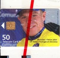 PORTUGAL(chip) - Fabian Jeker, Ciclismo/63ª Volta Portugal Em Bicicleta 1, Tirage 3000, 11/01, Mint - Portugal