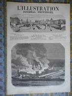 L ILLUSTRATION 19/10/1872 ESPAGNE INCENDIE ESCURIAL PELERINAGE DE LOURDES BELFORT PARIS PONT CONSTANTINE PYGMALION - Journaux - Quotidiens