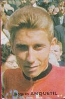 Old Chromo Jacques Anquetil  Nr. 100 Cycling Cycliste Cyclisme Wielrenner Wielrennen VICTORIA SERIE Vedetten Parade - Cyclisme