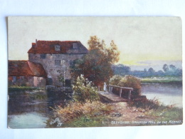 CPA - Angleterre - Berkshire : Brimpton Mill On The Kennet - Oilette - Angleterre