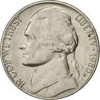 Monnaie, États-Unis, Jefferson Nickel, 5 Cents, 1980, U.S. Mint, Philadelphie - Emissioni Federali