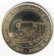 Monnaie De Paris 87.Limoges - Office De Tourisme 1911 - 2011 - Monnaie De Paris