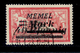 ! ! Memel - Stamp - YT 84 - Used (AA043) - Memel (1920-1924)