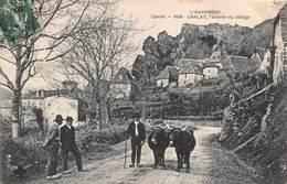 CARLAT - L'entrée Du Village - Carlat