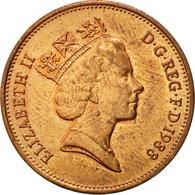 Monnaie, Grande-Bretagne, Elizabeth II, 2 Pence, 1988, TTB+, Bronze, KM:936 - 1971-… : Monnaies Décimales