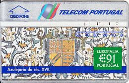 PORTUGAL(L&G) - Europalia 91(50 Units), CN : 130D, Tirage 50000, 10/91, Used - Portugal