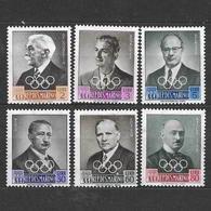 San Marino 1959  Preolimpica. Effigi Varie  Serie Completa Nuova/mnh** - San Marino