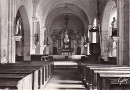 CPM Courson-les-Carrières - L'intérieur De L'Église (35873) - Courson-les-Carrières
