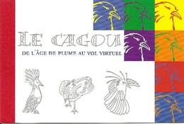 NEW CALEDONIA / NOUV CALEDONIE, 2003, Booklet / Carnet 16 , Cagou, Prestige Booklet - Booklets