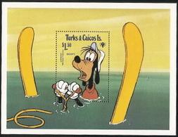 Turks & Caicos,  Scott 2018 # 408,  Issued 1979,  Set Of 1,  MNH,  Cat $ 1.75,  Disney - Turks And Caicos