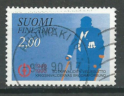 Finlande YT N°1071 Invalides De Guerre Oblitéré ° - Finlande