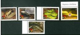 TIMOR LESTE MICHEL 383-388 MNH** REPTILES SNAKES FROGS CROCODILES - East Timor