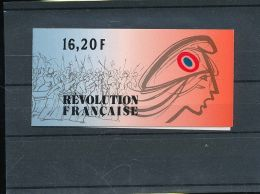 1989 France - 200 Annes De Revolution Personnages Celebre - Carnet YT BC2570/ Mi 2700/5 - MNH**; Hj16 - Markenheftchen