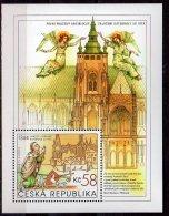 2014 Czech /Tschechien  St.Vitus Cathedral In Prague  - MS Paper - MNH** MiNr. 819 (Block 56) - Tschechische Republik