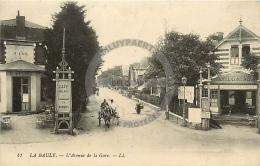 /! 7368 - CPA/CPSM  :  44 - La Baule : L'avenue De La Gare - La Baule-Escoublac