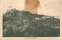 ROCCA D'EVANDRO - PANORAMA  - Formato Piccolo - VIAGGIATA 1934 - (rif. M51) - Caserta