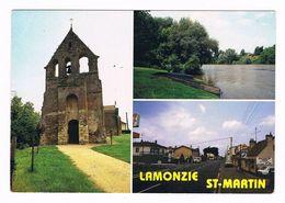 LAMONZIE - SAINT MARTIN  24  Multivues Avec 3 Photos - Francia