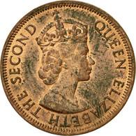 Monnaie, Etats Des Caraibes Orientales, Elizabeth II, Cent, 1965, TTB+, Bronze - Britse-karibisher Territorien
